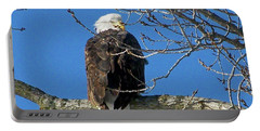 Eagle Watch Portable Battery Charger by Sue Stefanowicz