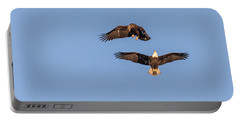 Eagles Dancing In Air Portable Battery Charger