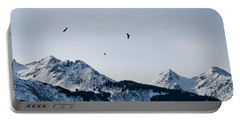 Eagles Over Mountains Portable Battery Charger