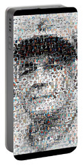 Earl Weaver Mosaic Portable Battery Charger by Paul Van Scott