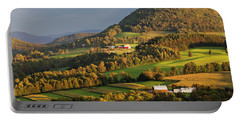 Early Autumn Countryside Portable Battery Charger