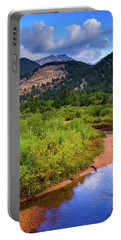 Early Autumn In Colorado Portable Battery Charger