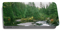 Early Autumn On The Madawaska River Portable Battery Charger
