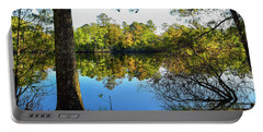 Portable Battery Charger featuring the photograph Early Fall Reflections by Nicole Lloyd