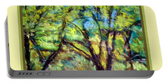 Early Fall Trees Portable Battery Charger