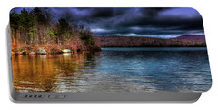 Portable Battery Charger featuring the photograph Early May On Limekiln Lake by David Patterson