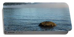 Portable Battery Charger featuring the photograph Early Morning At Lake St Clair by Werner Padarin