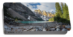 Early Morning At Moraine Lake Portable Battery Charger