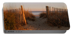 Early Morning At Myrtle Beach Sc Portable Battery Charger
