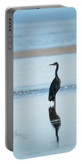 Early Morning Heron Portable Battery Charger