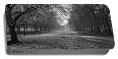 Early Morning In Hyde Park 16x20 Portable Battery Charger