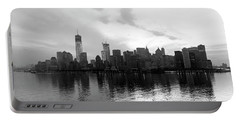Early Morning In Manhattan Portable Battery Charger