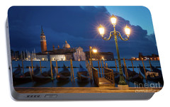 Portable Battery Charger featuring the photograph Early Morning In Venice by Brian Jannsen