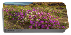 Early Morning Light Super Bloom Portable Battery Charger by Peter Tellone