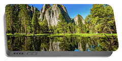 Early Morning View At Cathedral Rocks Vista Portable Battery Charger