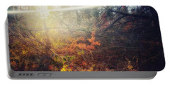 Early Morning Winter Sun Portable Battery Charger
