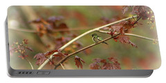 Early Summer Hummer Portable Battery Charger by Barbara S Nickerson