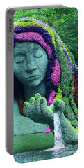 Earth Goddess Portable Battery Charger