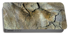 Portable Battery Charger featuring the photograph Earth Memories-thirsty Earth by Ed Hall
