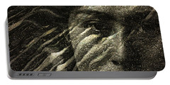Portable Battery Charger featuring the photograph Earth Memories - Water Spirit by Ed Hall