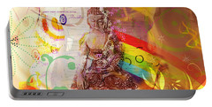 Earth Touching Buddha Portable Battery Charger