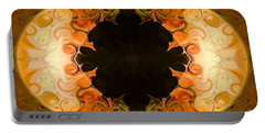 Earthly Undecided Bliss Abstract Organic Art By Omaste Witkowski Portable Battery Charger