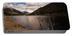 Earthquake Lake Portable Battery Charger by Cindy Murphy - NightVisions