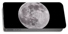 Earth's Moon Portable Battery Charger