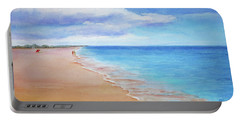 East Beach I Portable Battery Charger by Janet Zeh
