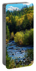 East Fork Autumn Portable Battery Charger by Jason Coward