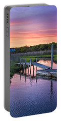 East Moriches Sunset Portable Battery Charger