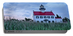East Point At Twilight Portable Battery Charger