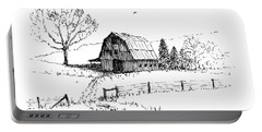 East Texas Hay Barn Portable Battery Charger
