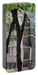 Portable Battery Charger featuring the photograph East West Gate 4  by Sarah Loft