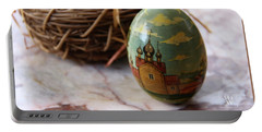 Easter Egg Russian Style Portable Battery Charger