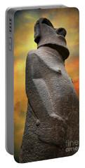 Easter Island Moai Portable Battery Charger