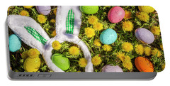 Portable Battery Charger featuring the photograph Easter Morning by Teri Virbickis
