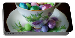 Easter Teacup Portable Battery Charger