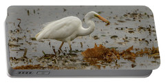Eastern Great Egret 10 Portable Battery Charger