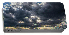 Eastern Montana Sky Portable Battery Charger by Shevin Childers