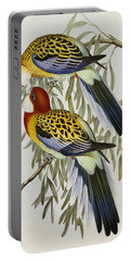 Eastern Rosella Portable Battery Charger by John Gould