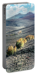 Eastern Sierra Nevada Autumn Landscape Portable Battery Charger