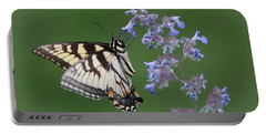 Eastern Tiger Swallowtail Profile Portable Battery Charger