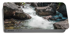Portable Battery Charger featuring the photograph Easy Waters- by JD Mims