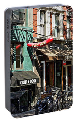 Portable Battery Charger featuring the photograph Eat Me New York by Joan Reese