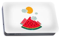 Eatventure Time Portable Battery Charger by Mustafa Akgul