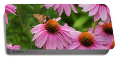 Echinacea In Bloom Portable Battery Charger