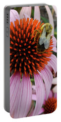 Echinacea Tea Time For Bee Portable Battery Charger