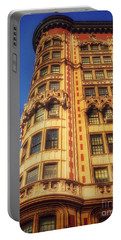 Portable Battery Charger featuring the photograph Echoes Of Another Era - Park Avenue Beauty by Miriam Danar