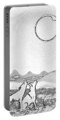 Eclipcse Graphic Pen Outline Portable Battery Charger